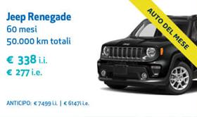 Jeep Renegade UnipolRental